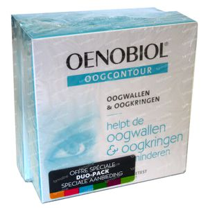 Oenobiol Oogcontour Duopack 60 capsules