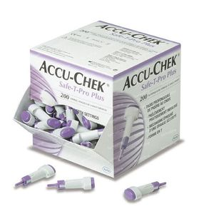 Accu-Chek Safe T-pro plus lancetten 200 St