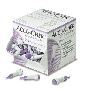 Accu-Chek Safe T Pro Plus Sterile Disposable 200 stuks