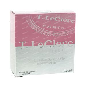 T.LeClerc Loose Powder Travel Box Natural 7 g