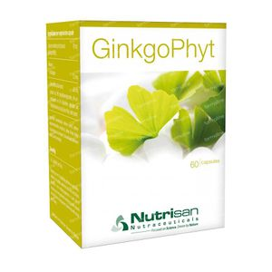 Nutrisan Ginkgophyt 60 St capsules