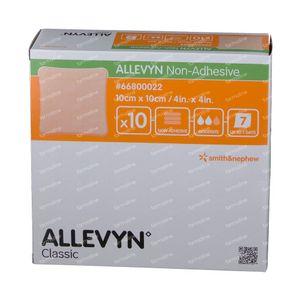 Allevyn Non Ahd Pans Hydrocel. 10X10Cm 66007637 10 pièces