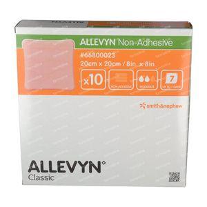 Allevyn Non Adh. 20x20 cm 10 pièces