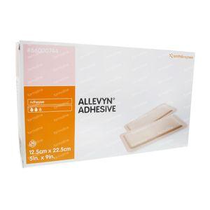Allevyn Adhesief 12,5x22,5cm 66000744 10 stuks