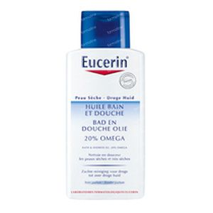 Eucerin Bad & Douche Olie 20% Omega 200 ml