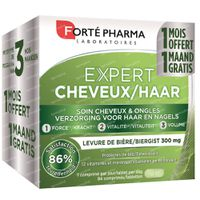Forté Pharma Expert Cheveux 2+1 Mois GRATUIT 56+28  comprimés