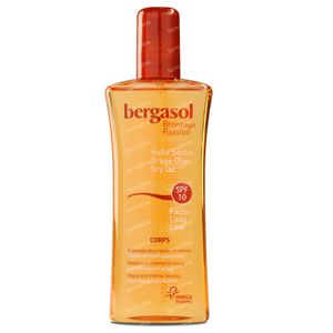Bergasol Droge Olie SPF10 125 ml spray