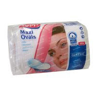 Tippys Maxi Pads Disques Coton Ovale 40 st