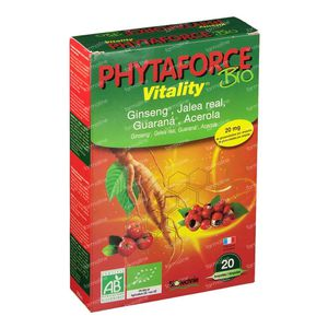 Biotechnie Bio Phytaforce 20 x 10 ml ampoules