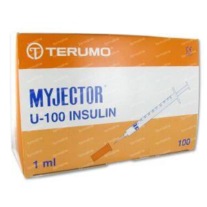 Terumo Aiguille 1 ml 29g1/2 Insuline N1h2913 100 pièces