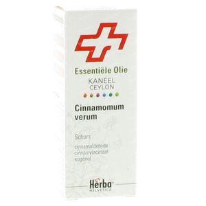Herba Helvetica Kaneel Ceylon Schors Essentiële Olie 10 ml