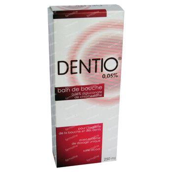 Dentio R 0.05% Bain De Bouche 250 ml