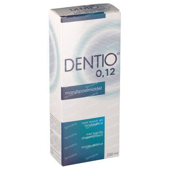 Dentio B 0.12% Mondspoelmiddel 250 ml
