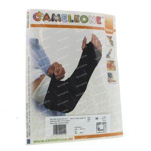 Cameleone Hele Arm Open Zonder Duim M Zwart 1 stuk