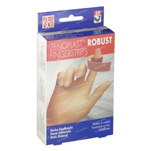 Zenoplast Robust Strips Fingerstrips 20 pieces