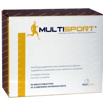 MultiSport 30 comprimés effervescents