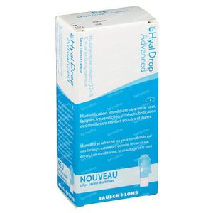Bausch & Lomb Hyaldrop Advanced 10 ml solution