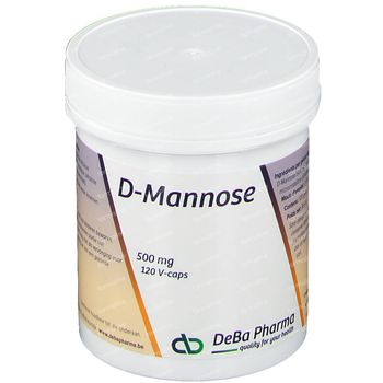 Deba D-Mannose 500Mg V-Caps 120 capsules