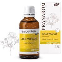 Pranarôm Huile Vegetale Rose Musquée 50 ml