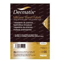 Dermatix Silicone Sheet Fabric 4x13cm 1 st