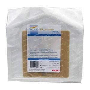 Dermatix Silicone Sheet Fabric 13x13cm 1 St