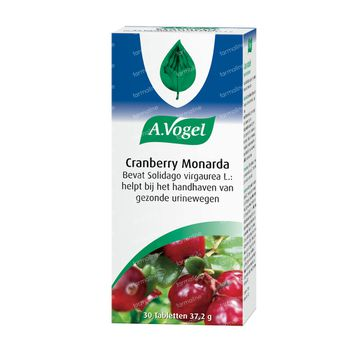 A.Vogel Cranberry Monarda 30 tabletten