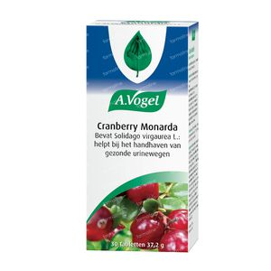 A.Vogel Cranberry Monarda 30 tabletten