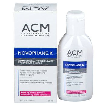 Novophane K Shampooing Mousse 125 ml
