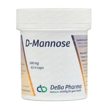 Deba D-Mannose 500Mg V-Caps 60 capsules