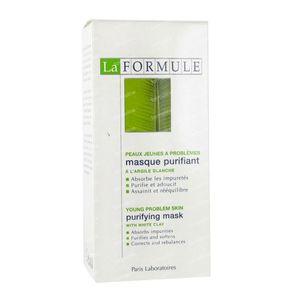 La Formule Masker Zuiverend Witte Klei 50 ml