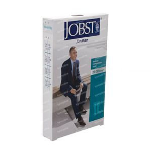 Jobst For Men KL2 Knie O/T L Black 7525904 1 pieza