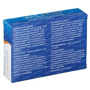 Amufort 15 Tabl. 15 tabletten