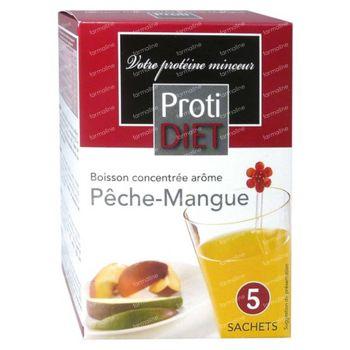 Protidiet Boisson Peche-Mango Poudre 5 sachet