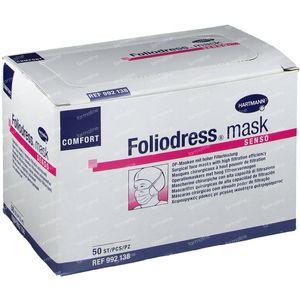 Hartmann Foliodress Masque Comfort Senso Vert 9921381 50 pièces