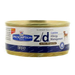 Hills Prescription Diet Canine Low Allergen Z/D 156 g