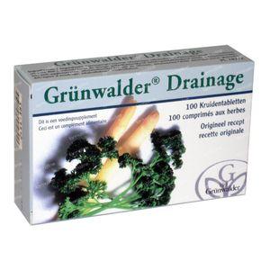Grunwalder Drainage 100 comprimés