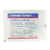 Cutimed Sorbact Gaze 2cm x 50cm 7216600 1 st
