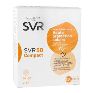 SVR 50 Compact Beige Clair SPF50+ 10 ml