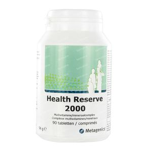 Health Reserve 2000 90 St tabletten