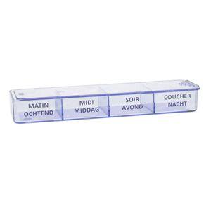 Medidose Pilulier De Poche 1 Jour 1 pièce