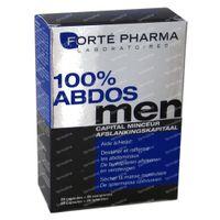 Forté Pharma Abdos Men 100% 2x7 + 2x7  comprimés