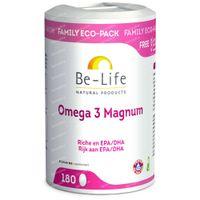 Be-Life Omega 3 Magnum 180  capsules