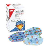 3M Opticlude Compresse Occulaire Boys & Girls Midi 5,3cm X 7cm 2538PE 30 pièces