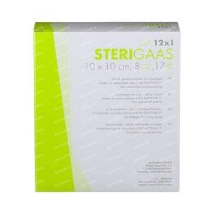 Sterigaas KP Steriel 8L 10cm x 10cm 12 stuks