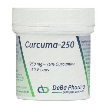 Deba Curcuma 250mg 60 capsules