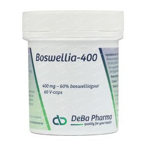 Deba Boswellia Extract 400mg 60 capsules