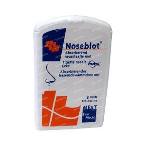 Noseblot Styptic Nasal Swab 3 Pezzi