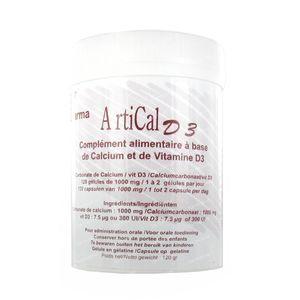 Artical D3 1000mg 120 capsules
