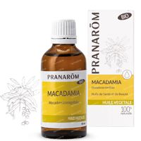 Pranarôm Huile Végétale Macadamia Bio 50 ml