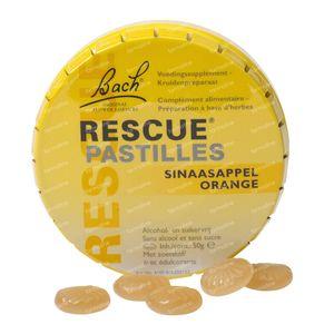 Bach Blossom Rescue Pastillas Sabor Naranja Sin Azúcar 50 g